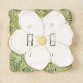 Magnolia Double Switch Antique White