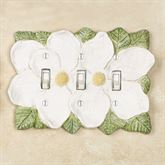 Magnolia Triple Switch Antique White