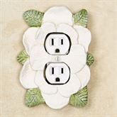 Magnolia Single Outlet Antique White