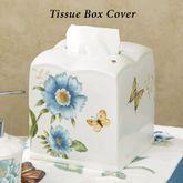 Lenox Blue Floral Garden Tissue Cover