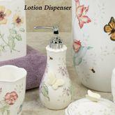 Lenox Butterfly Meadow Lotion Soap Dispenser White