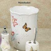Lenox Butterfly Meadow Wastebasket White