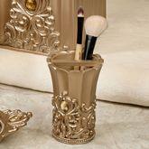 Opulence Brush Holder Champagne Gold