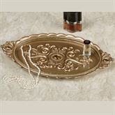 Opulence Vanity Tray Champagne Gold