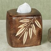 Bamboo Leaf Tissue Cover