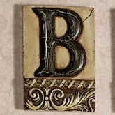 Alphabet Tile PlaqueLetter B