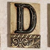 Alphabet Tile PlaqueLetter D