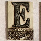 Alphabet Tile PlaqueLetter E