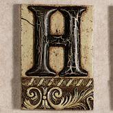Alphabet Tile PlaqueLetter H