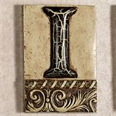 Alphabet Tile PlaqueLetter I