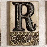 Alphabet Tile PlaqueLetter R