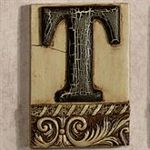 Alphabet Tile PlaqueLetter T