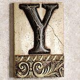 Alphabet Tile PlaqueLetter Y