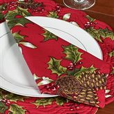 Kellyn Napkins Red Set of Four