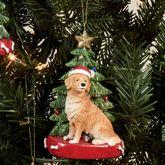 Golden Retriever Christmas Multi Warm