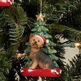 Yorkshire Terrier Christmas Ornament Multi Warm