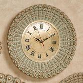 Alexander Beaded Round Wall Clock Gold Clock