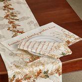 Autumn Heritage Placemats Linen Set of Four