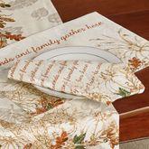 Autumn Heritage Napkins Linen Set of Four