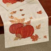 Shimming Harvest Table Runner Natural 14 x 70