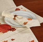 Shimmering Harvest Napkins Natural Set of Four