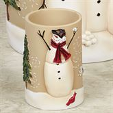 Snowmen Gathering Tumbler Natural