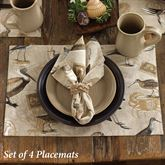 Marshland Placemats Multi Earth Set of Four