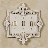 Fleurance Triple Switch Old World White