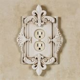 Fleurance Single Outlet Old World White
