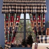 The Woods Tailored Valance Multi Warm 88 x 15