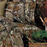 Realtree(R) Camo Sheet Set Light Taupe