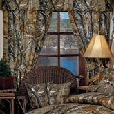 Realtree(R) Camo Curtain Pair Light Taupe 84 x 84