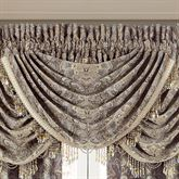 Provence Scroll Waterfall Valance Beige 43 x 33.5