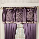 Vintage Lace Tailored Swag Valance