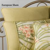 Sea Island Piped European Sham Ivory