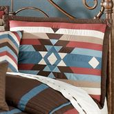 Frontier Quilted Sham Chocolate