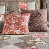 Stella Square Pillow Set Taupe Set of Two