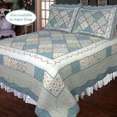 Ashley Blue Quilt Light Blue