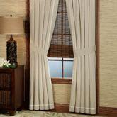 Fiji Tailored Curtain Pair Light Taupe 82 x 84