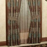Galleria II Tailored Curtain Pair Chocolate 82 x 84