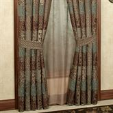 Galleria II Tailored Curtain Pair Chocolate 82 x 84