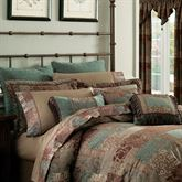 Galleria II Tasseled Rectangle Pillow Chocolate Rectangle