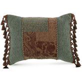Galleria II Tasseled Rectangle Pillow Chocolate Rectangle