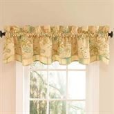 Cape Coral Fairfield Valance Peach 78 x 18