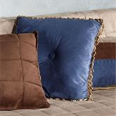 Camden Beaded Tufted Pillow 18 Square