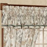 Seville Tailored Valance Platinum Gray 88 x 14