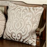 Astoria Scroll Piped Pillow Sand 18 Square