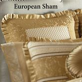 Marcello Gold Tailored Sham European