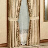 Marcello Gold Tailored Curtain Pair 98 x 84