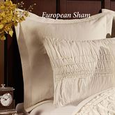 Fontana Tailored Sham Ivory European